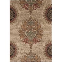 8 x 11 Large Brown Area Rug - Wild Weave