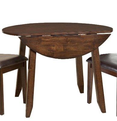 Raisin 42 Drop Leaf Round Dining Table Kona RC Willey