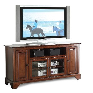 ... 60 Inch Cherry Brown TV Stand   River City