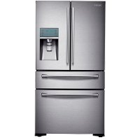 RF24FSEDBSR Samsung French Door Refrigerator - 36 Inch Stainless Steel Counter Depth