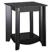 Black End Tables (Set of 2) - Aero