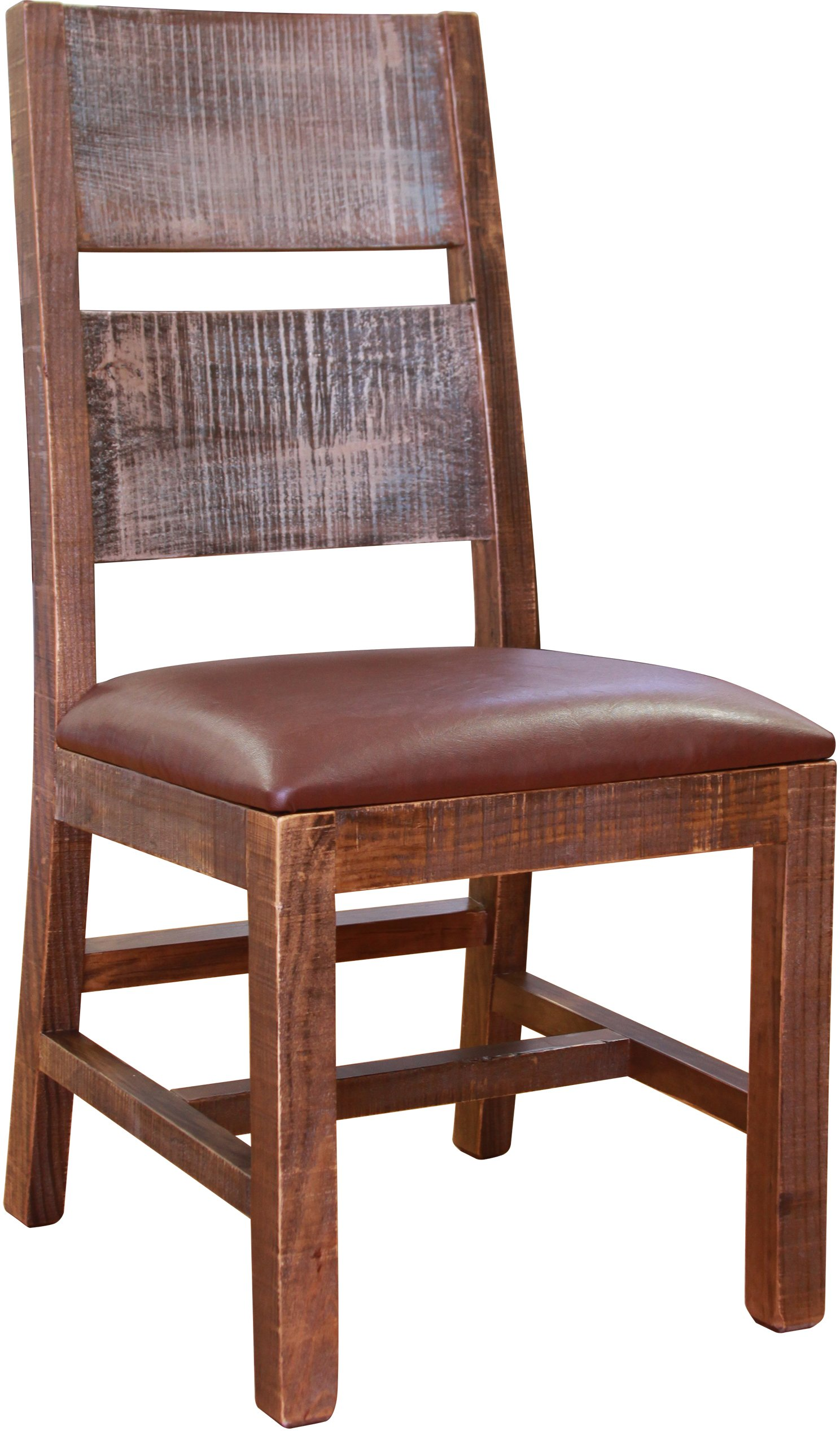 Antique Pine Dining Room Chair - Pine 5 Piece Dining Set - Rustic Antique RC Willey Furniture Store