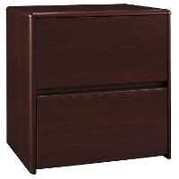Harvest Cherry 2 Drawer Lateral File Cabinet - Northfield