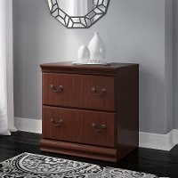 Harvest Cherry 2-Drawer Lateral File Cabinet -Birmingham