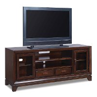 65 inch brown tv stand viewline rc willey furniture store. Black Bedroom Furniture Sets. Home Design Ideas