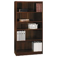 Cherry 5-Shelf Bookcase - Universal