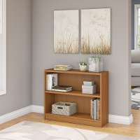 Royal Oak 2-Shelf Wood Bookcase - Universal