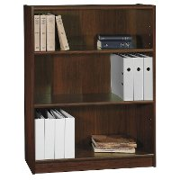 Cherry 3-Shelf Bookcase - Universal