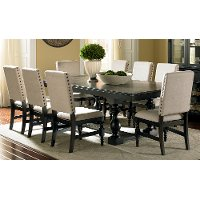 Leona Steve Silver 5 Piece Dining Set Rc Willey