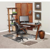 Zeta Desk And Chair Set Rc Willey Furniture Store