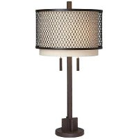 Mesh Bronze Table Lamp