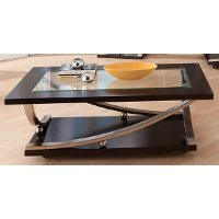 Modern Glass Coffee Table - Melrose
