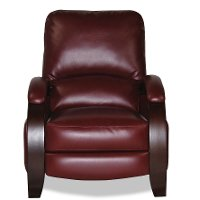 Rouge Red Performance Fabric Recliner - Naples