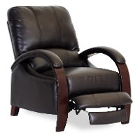 Coffee Brown Performance Fabric Recliner - Naples