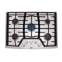 LCG3011ST LG 30 Inch 5-Burner Gas Cooktop - Stainless Steel