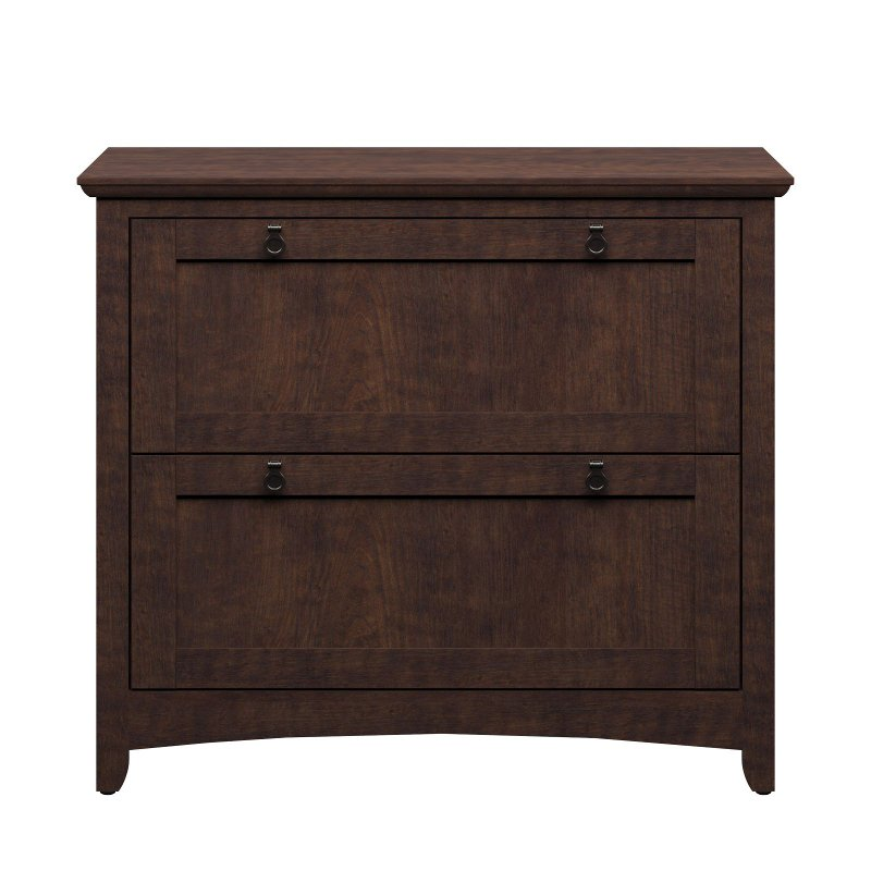 Cherry 2 Drawer Lateral File Cabinet - Buena Vista