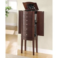 Merlot jewelry armoire rc willey furniture store for Best way furniture store