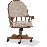 Swivel Dining Room Chair - Classic Chestnut