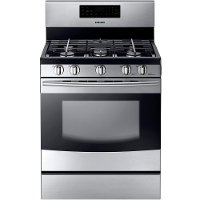 NX58F5500SS Samsung Gas Range - 5.8 cu. ft. Stainless Steel