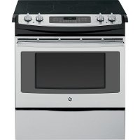 JS750SFSS GE 4.4 cu. ft. Slide-in Range - Stainless Steel