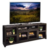 85 Inch Mocha Brown TV Stand - Skyline