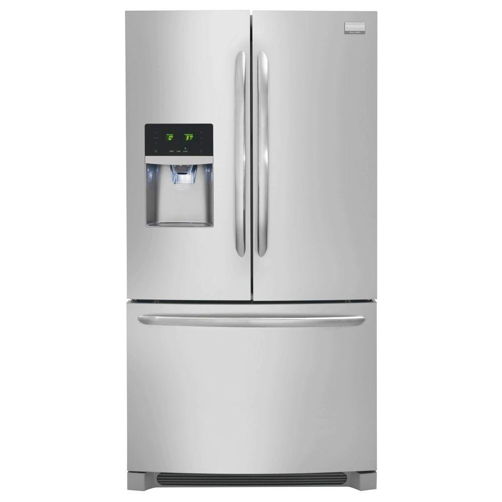 Frigidaire 36 Inch Stainless Steel 23 cu. ft. French Door Counter Depth  Refrigerator | RC Willey Furniture Store