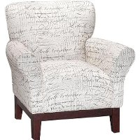 Linen Pattern Accent Chair - Aiden Collection