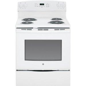 jb250dfww ge 30 white 53 cu ft electric range