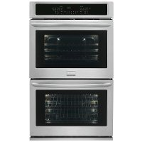 FGET2765PF Frigidaire Gallery 27 Inch Double Electric Wall Oven Self-Cleaning with Convection - Stainless Steel