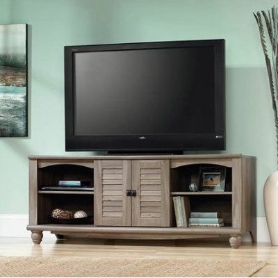 60 Inch Salt Oak TV Stand RC Willey Furniture Store