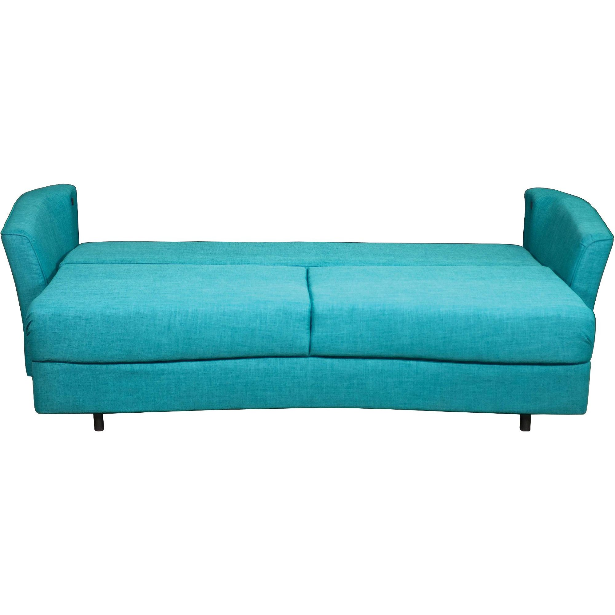 Turquoise Sofa Bed Perch Parrow Butch 3 Seater TheSofa