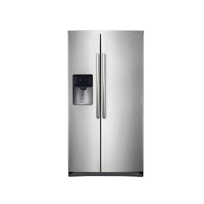 RS25H5111SR Samsung Side-by-Side Refrigerator ENERGY STAR - 36 Inch Stainless Steel
