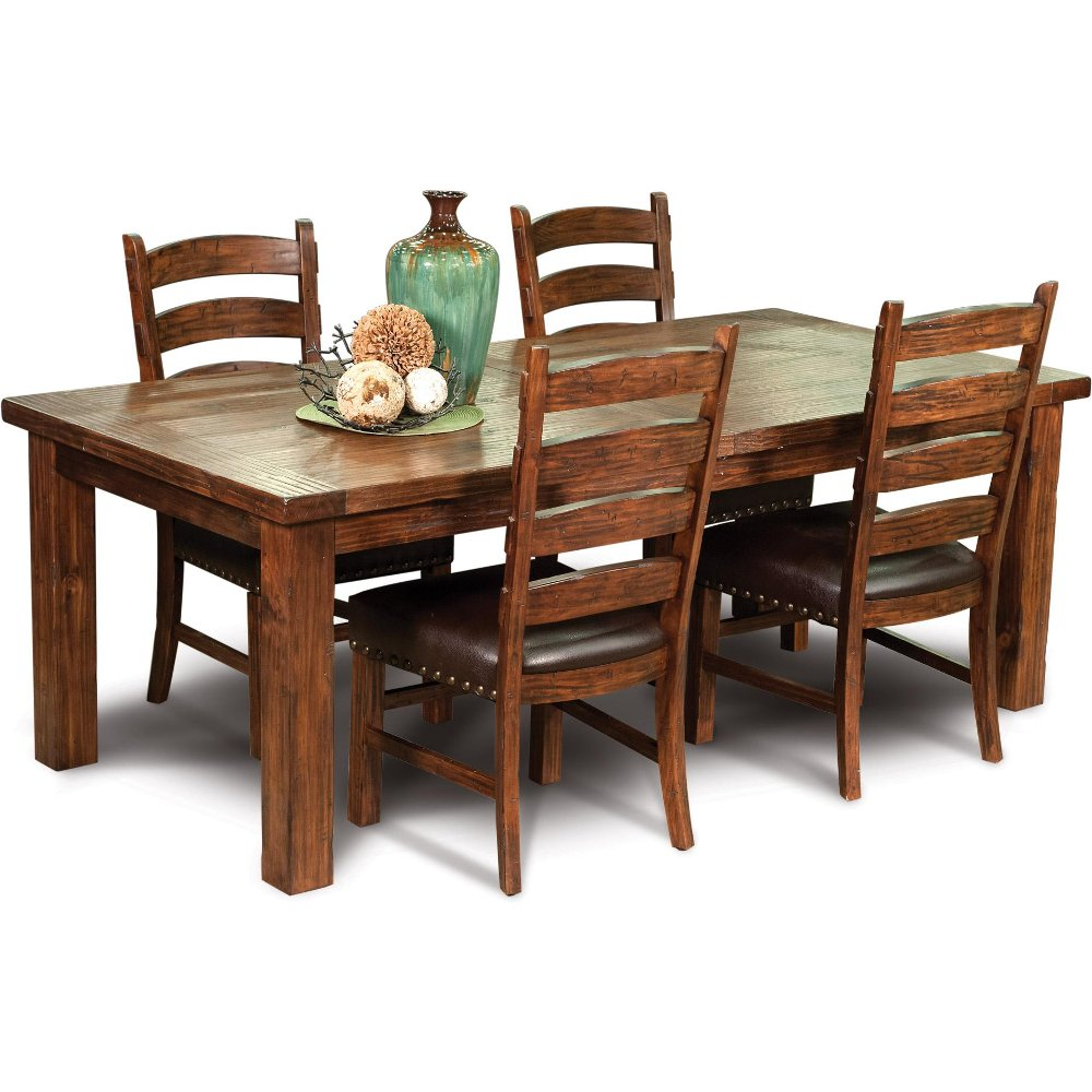 Mission 5 piece dining set chambers creek rc willey furniture store dzzzfo