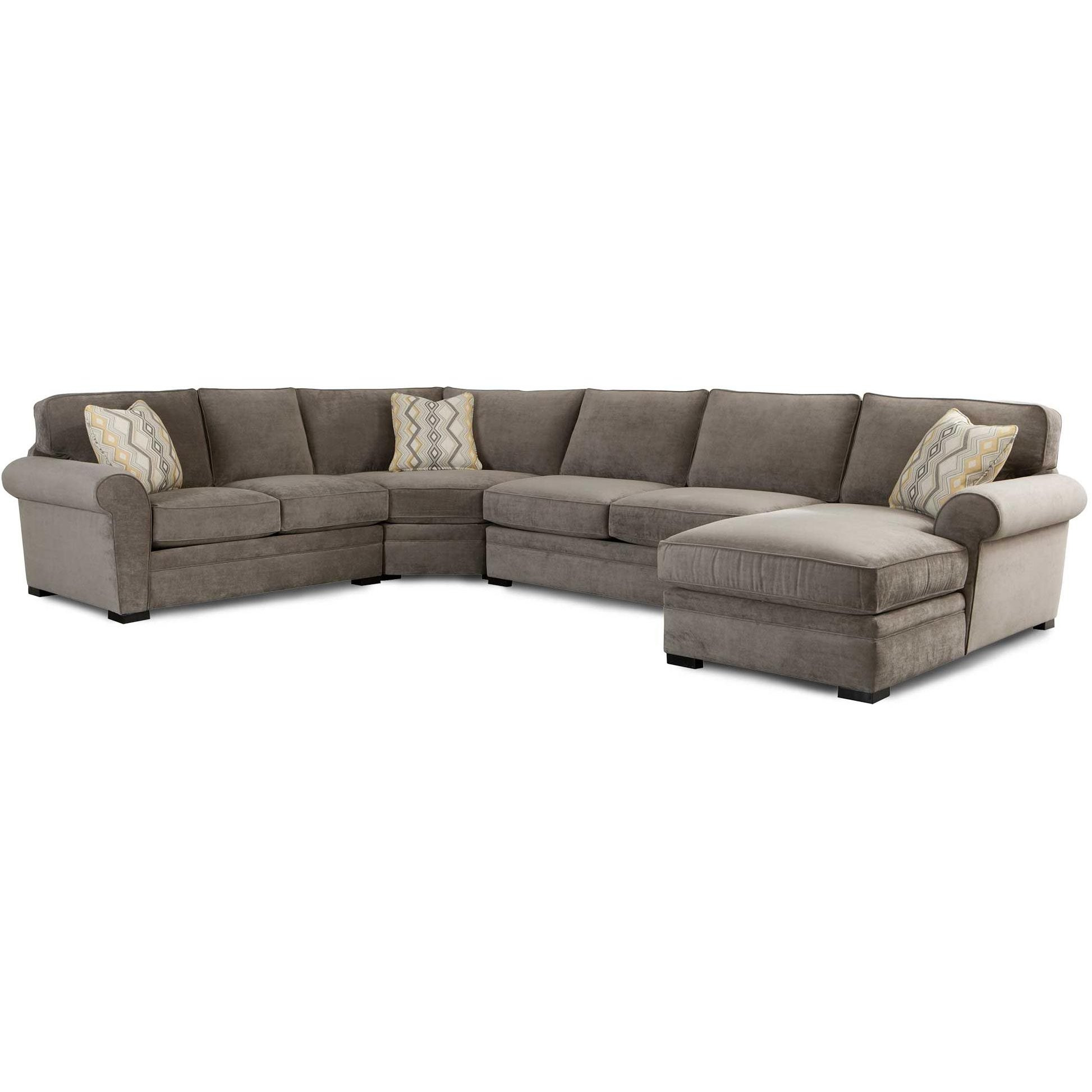 Gray Casual Contemporary 4-Piece Sectional - Orion ...  sc 1 st  RC Willey : cordoba 2 piece sectional - Sectionals, Sofas & Couches
