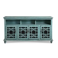 72 Inch Rustic Blue Tv Stand Rc Willey Furniture Store