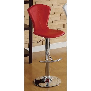 clearance airlift red barstool