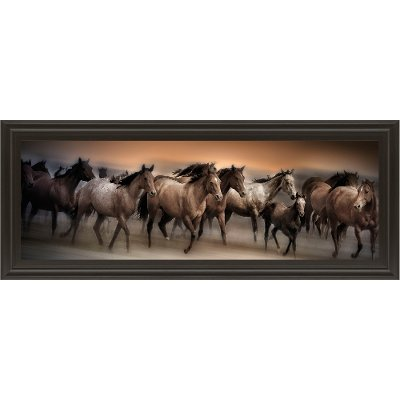 Two Happy Horses Canvas Wall Decor Rc Willey Furniture Store