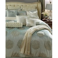 Ice Blue Queen Harlington Bedding Collection