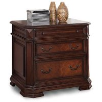 Cherry Brown 2 Drawer Lateral File Cabinet - Westchester