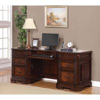 Classic Brown Office Desk - Westchester