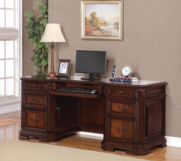 Clic Brown Office Desk Westchester