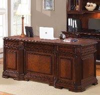 Cherry Wood Executive Computer Desk Westchester Rc