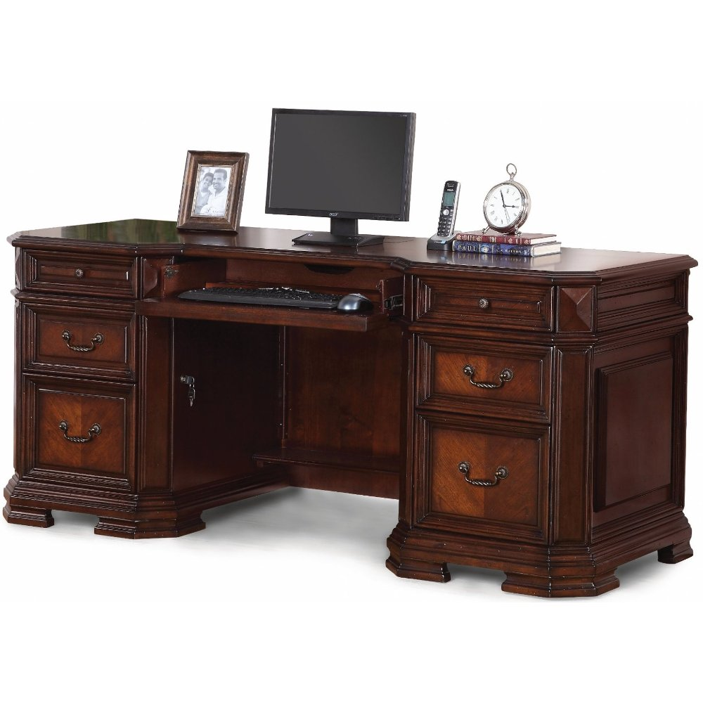 Charmant Cherry Wood Executive Computer Desk   Westchester | RC Willey Furniture  Store