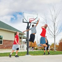90179 Lifetime 54 Inch Mammoth Basketball System