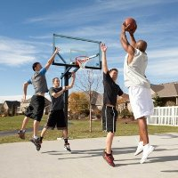 90181 Lifetime 72 Inch Mammoth Basketball System