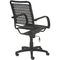 ... Black Bungee Cord High Back Office Chair  Bungie 4