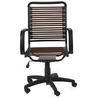 Brown Bungee Cord High Back Office Chair   Bungie