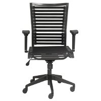 Black Bungee High-Back Office Chair - Bungie
