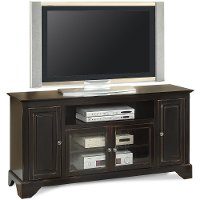 60 Inch Distressed Black TV Stand - River City