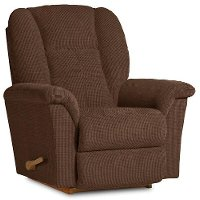 10-709C115578RCL Chocolate Brown Manual Rocker Recliner - Jasper